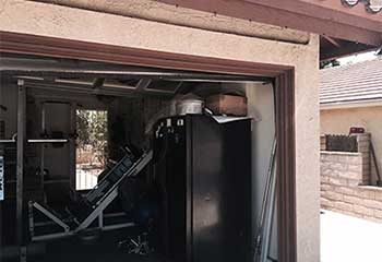 Track Replacement Project | Garage Door Repair La Vernia, TX